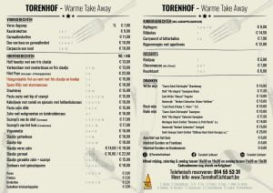 Torenhof Lichtaart Warme take-away menu maart2021